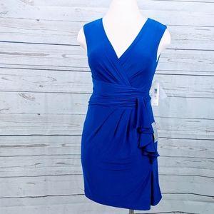 NWT ~ ELIZA J Suripluce Faux Wrap Dress